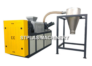 China Industrial PP PE Film Squeezing Dewatering Machine For Plastic Recycle supplier