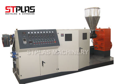 China High Capacity Single Screw Plastic Extruder Pelletizing Line For Granulating supplier