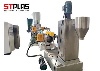 China PP PE recycling and granulating machine with water-ring pelletizing system supplier