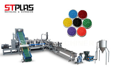 China Mother and baby extruder plastic pelletizing machine for PP PE material supplier