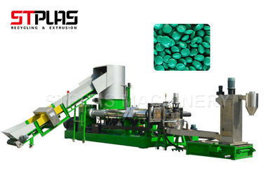 China Industrial Plastic Film Granulator , High Speed Plastic Scrap Recycling Machine supplier