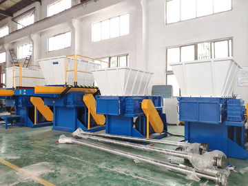 China Energy Saving Plastic Waste Shredder , Steel Heavy Duty Plastic Shredder supplier