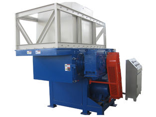 China PLC Control Plastic Shredder Machine With Good Shaft Structure Design supplier