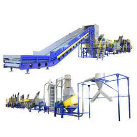 China Industrial Waste Plastic Washing Recycling Machine With Stainless Steel Tank supplier
