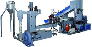 China Industrial Small Scale Plastic Recycling Machine / Plastic Recycling Plant Machinery supplier