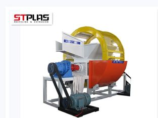 China 1 Year Warranty Plastic Shredder Machine Tire Double Shaft Shredder supplier