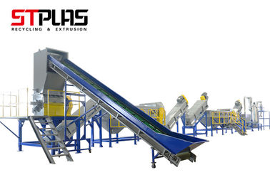 China OEM Plastic PP PE Washing Recycling Machine Bottle Crushing Washing Drying Line supplier