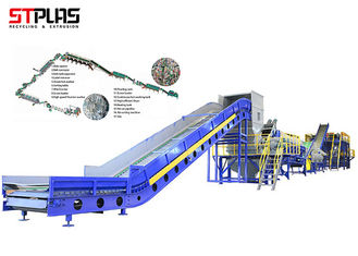 China 500-5000kg / H Pet Recycling Equipment Waste PET Scraps Recycle Plant Plastic supplier