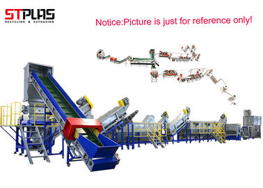 China Waste HDPE Washing Line PP PE Scraps Plastic Recycling Line High Speed supplier