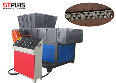 Hard Material Precious Plastic Shredder Machine One Shaft Design Longlife