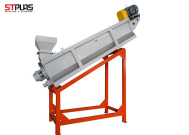 China High Speed Friction Plastic Washing Recycling Machine Crushing , Washing , Palletizing supplier