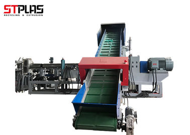 Ldpe Plastic Pellet Making Machine , Pvc Plastic Recycling Equipment