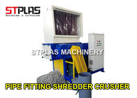 Recycling Crusher Plastic Shredder Machine For Pipe Fittings / Die Head Material