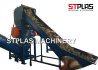 PET HDPE Plastic Bottle Grinding Machine , Waste Plastic Crusher Energy Saving