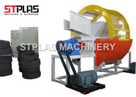 Car / Truck Waste Tyre Shredding Machine For Rubber Recycling High Efficient