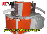 China HDPE PE Corrugated Pipe Making Machine / Perforating Machine Single Or Double Wall factory
