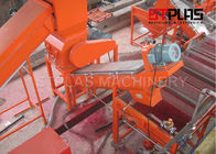Red Color Plastic Washing Machine / D2 Crusher Blade Pet Washing Line