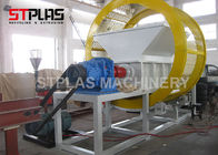 China Customizable output Double Shaft Industrial waste tire recycling shredder machine company