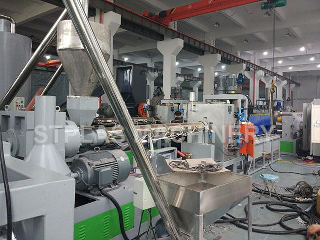 PET Strap Production Line Packing Belt Machine With Single Screw Extruder