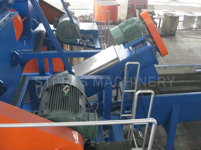 PE Films Bags Plastic Washing Recycling Machine With ST-300/500/1000/1500/2000
