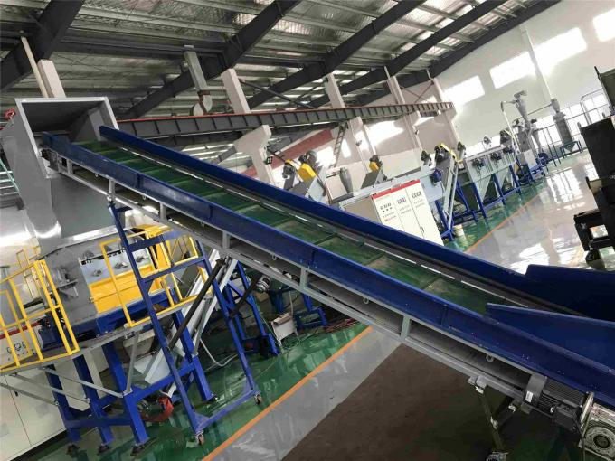 OEM Plastic PP PE Washing Recycling Machine Bottle Crushing Washing Drying Line