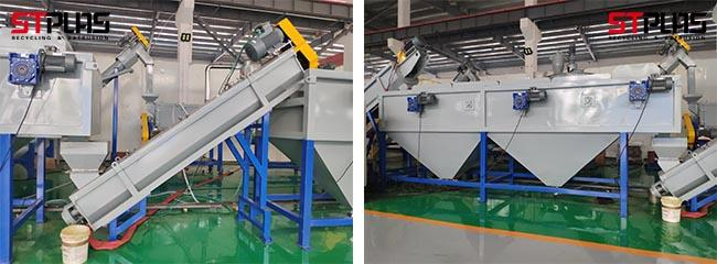 CE SGS Ldpe Recycling Machine PP Woven Bags Crushing Washing Recycling Plant