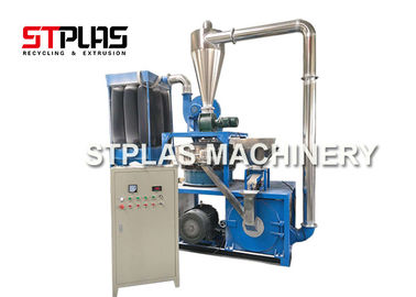 PE Disc Plastic Auxiliary Machine Grinding Pulverizer Machine With 80 Mesh