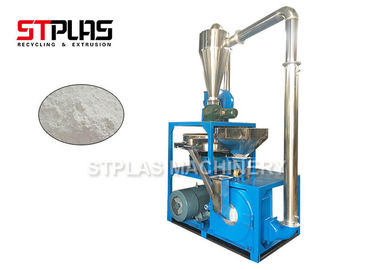 China Auto PS PE Plastic Pellet Grinder Machine Disc Type 20-80 Mesh Easy Operation factory