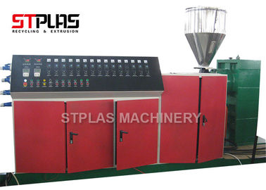 China Two Stage Single Screw Plastic Extruder Pellet Making Machine 300-400kg/h Output distributor