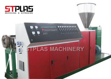China Connical Twin Screw Extrusion Machine / Two Screw Extruder With 38CrMoALA Screw distributor