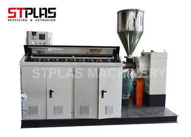 China PP PE PVC Single / Double Wall Corrugated Pipe Extrusion Line High Efficiency distributor