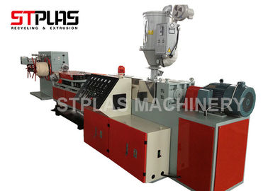 China Single Wall Plastic Corrugated Pipe Making Machine 16-63mm Diameter Easy Operation distributor