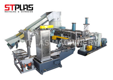 Two Stage Compactor Granulator Pelletizing Line With Efficient Exhaust And Filtration