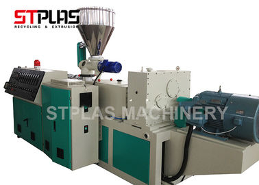 China Conical Two screw extruder SJSZ80 ModelSJSZ80/156 Conical two screw extruder distributor