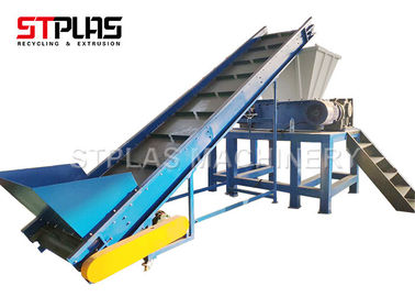 China Wood Tray plastic shredder machine tree shredder for dual shear shredder factory