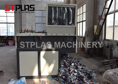 China Industrial plastic film single shredder for Polyethylene,Polypropylene plastic film ,PE,PP and SOFT MATERIAL factory