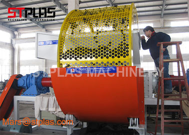 China Dual Shaft Plastic Bottle Shredder Machine / Tire Shredder Crusher Machine factory