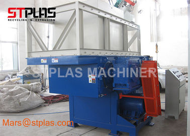 China Commercial Single Shaft Waste Pipe Plastic Barrel shredder industry machine factory