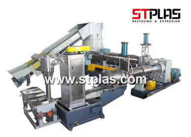 China Eco Friendly Plastic Recycling Pellet Machine With Single Screw Extruder factory