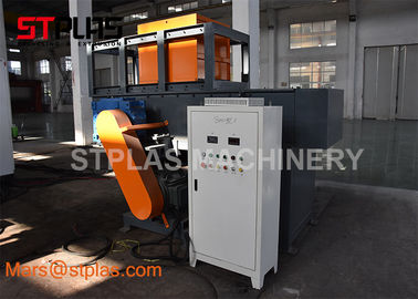 China Industrial Single Shaft Plastic Shredder Machine For Wood Pallet Recycling factory