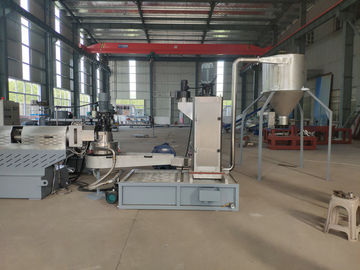 China Three In One Plastic Recycling Pellet Machine With Single Screw Extruder factory