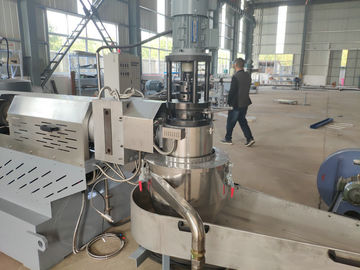 China High Speed Plastic Recycling Pellet Machine For PP PE Film , Woven Bags factory