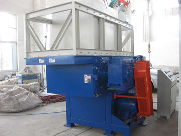 China Waste Plastic Bag Shredder Machine / Industrial Plastic Grinding Equipment factory