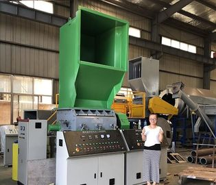 China Recycle crusher PP PE waste plastic recycling high quality professional industrial crusher distributor