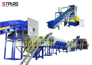 Semi-Automatic Plastic Crushing and Washing Machine PET Recycling Machine