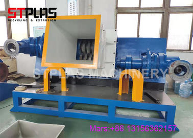 the horizontal shredder special for plastic steel wire suction spiral hose pipe