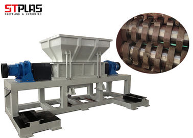 China Two Shaft Bottle Industrial Plastic Shredder STPLAS ST2 Machinery For Large Capacity factory